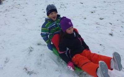 Zimske radosti v OPB 2. razred