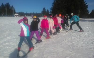 Zimska šola v naravi, Gorenje-Rogla, 1. dan