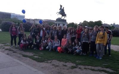 Učenci IP Nemščina na Dunaju