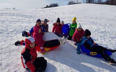 Zimsko predpočitniško veselje v OPB 5