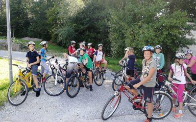 S kolesom okrog Gradiškega jezera