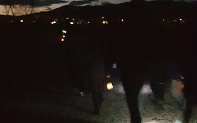 Gregorjev pohod z lučkami