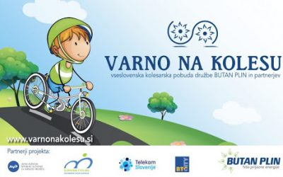 Prvo mesto v Varno na kolesu